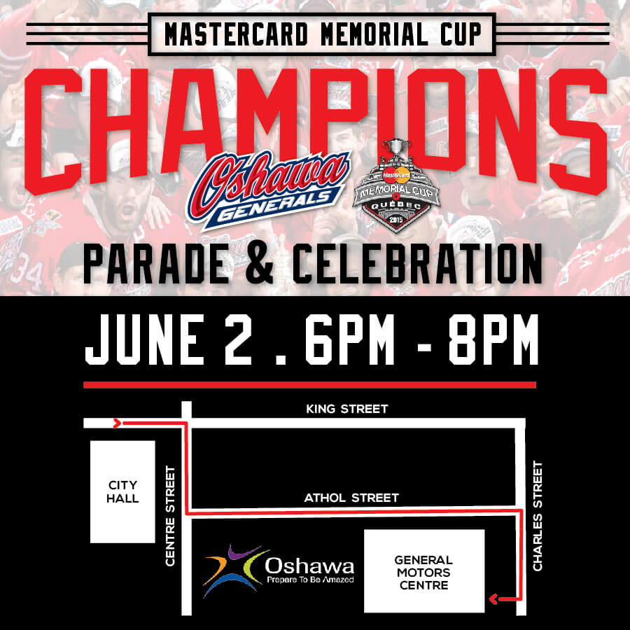 Mastercard Memorial Cup Parade And Celebration General