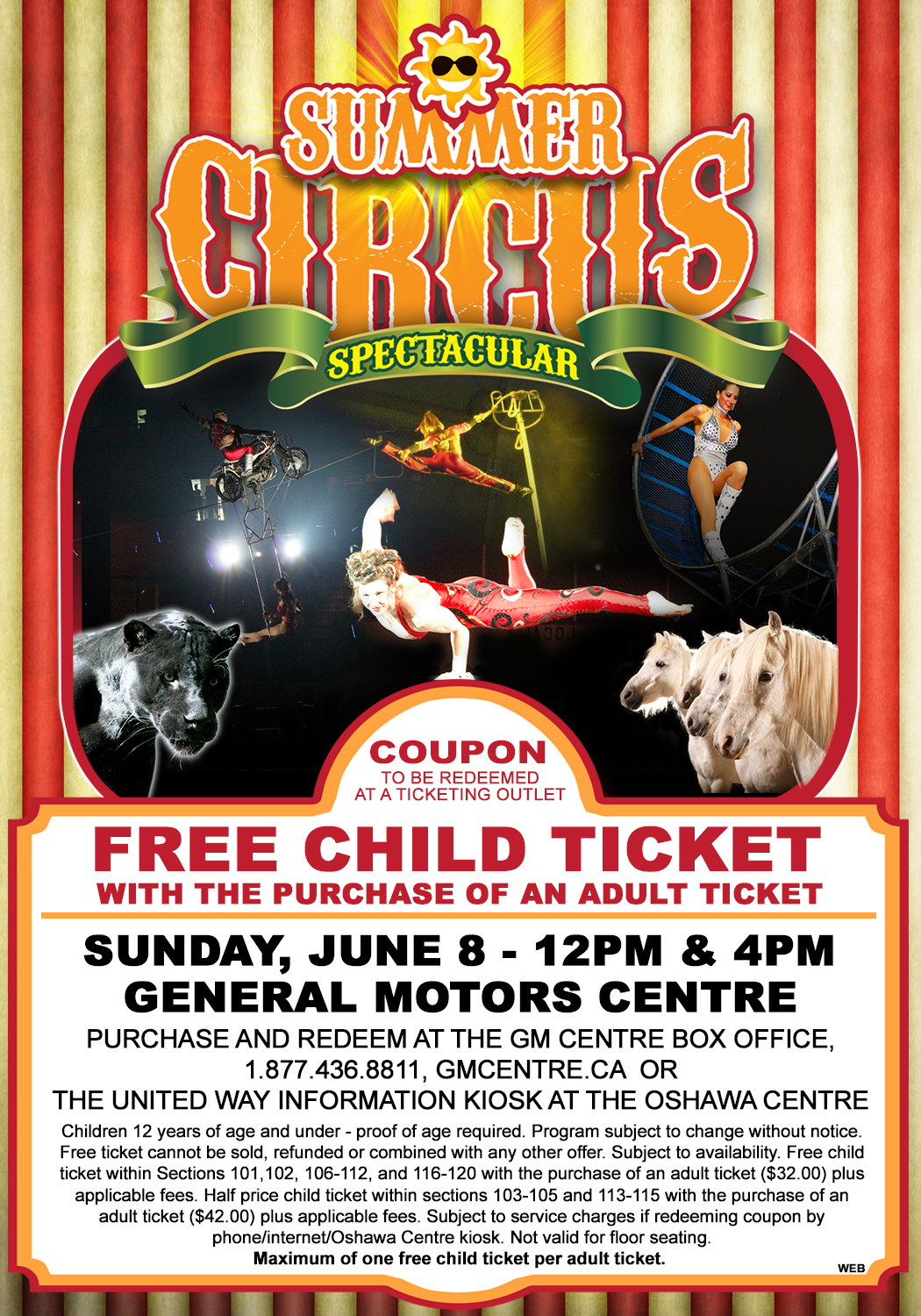 Fun For The Whole Family Summer Circus Spectacular In Oshawa